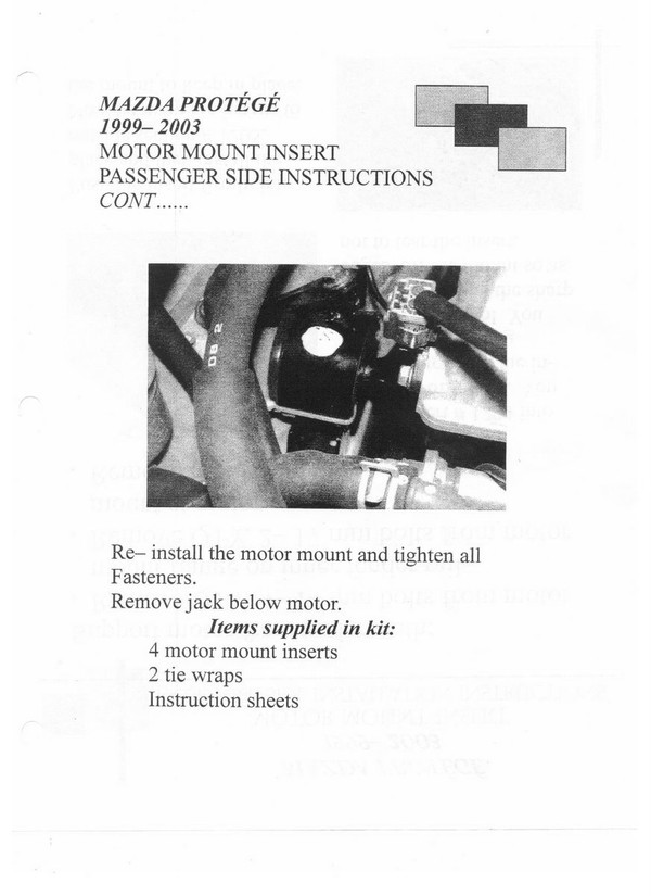 Installation instructions page 2