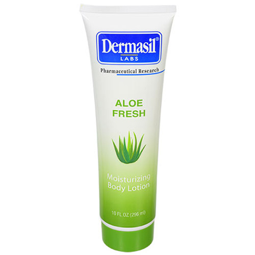 Dermasil Aloe Fresh Moisturizing Body Lotion, 10-oz. Tubes