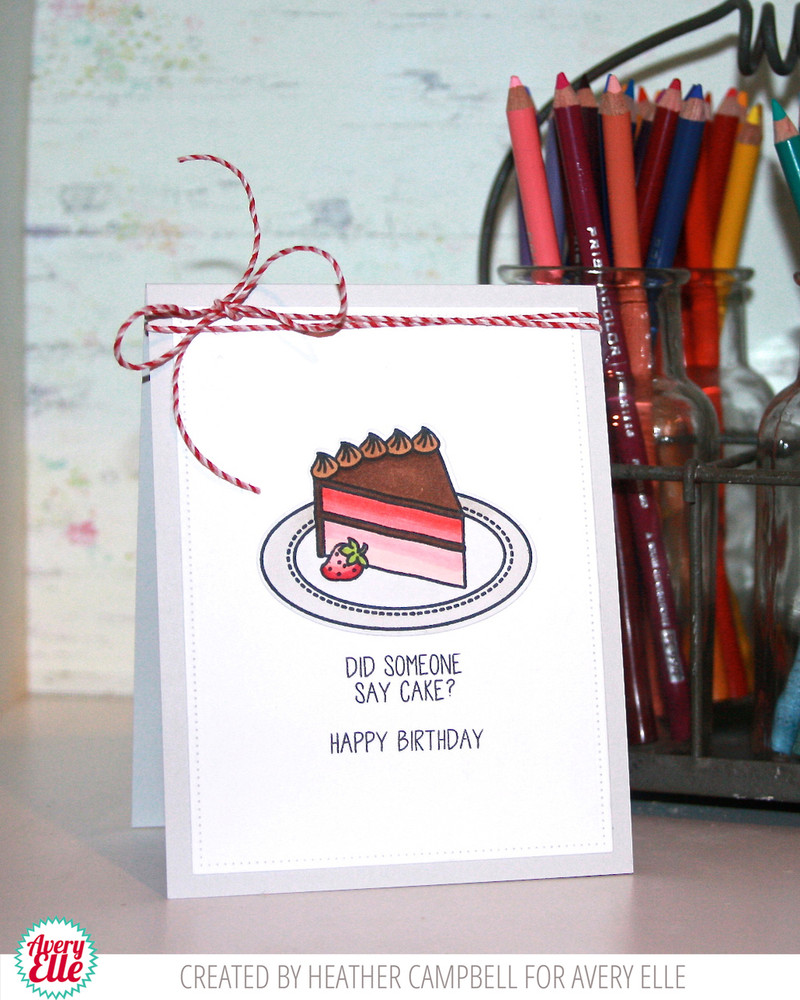 Bring On The Cake Clear Stamps
