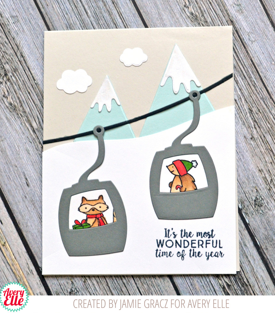 Snow Much Fun Clear Stamps