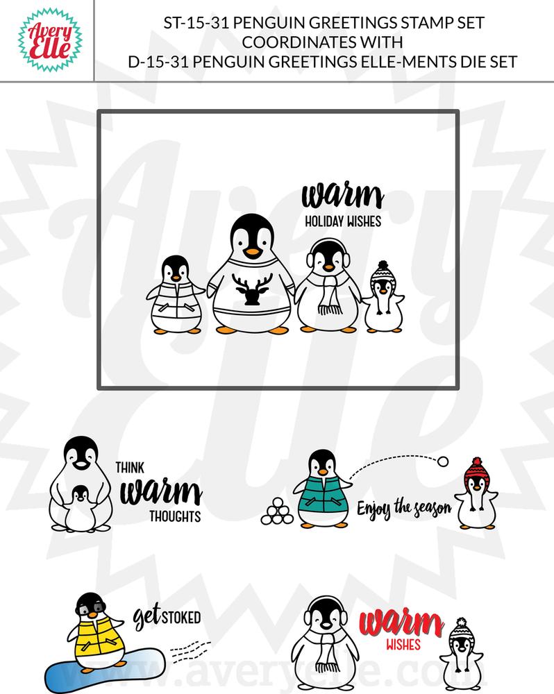 Penguin Greetings Examples