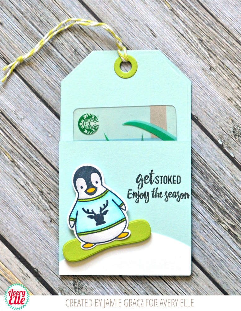 Penguin Greetings Clear Stamps