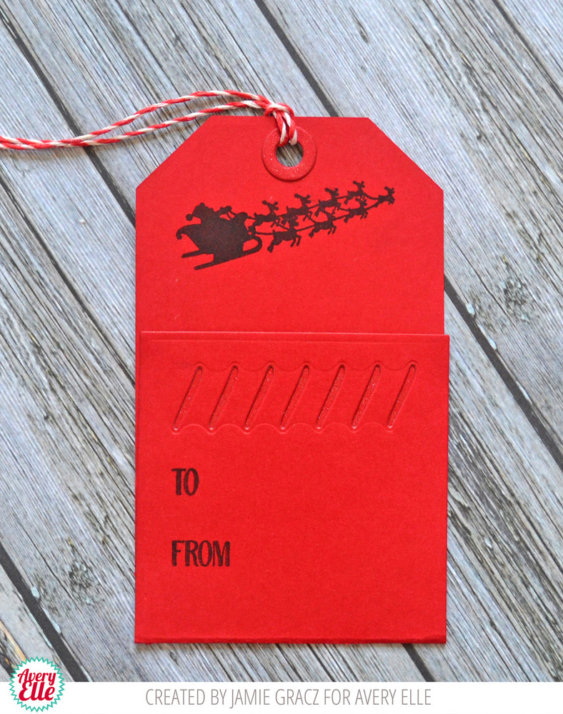 Naughty Or Nice Clear Stamps