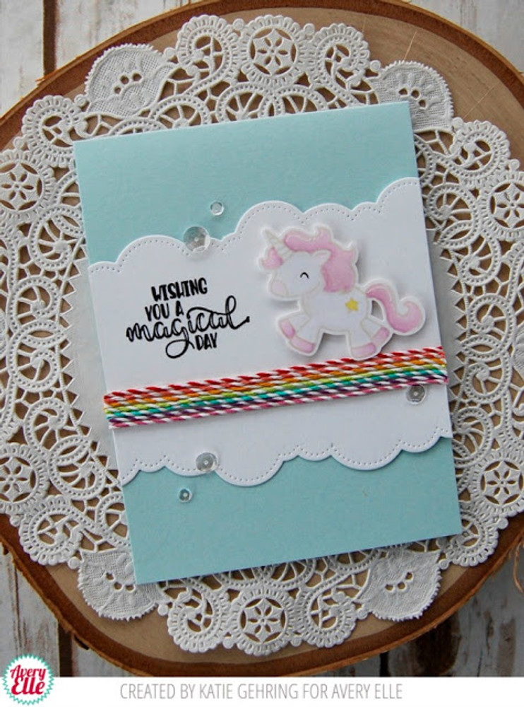 Be A Unicorn Clear Stamps