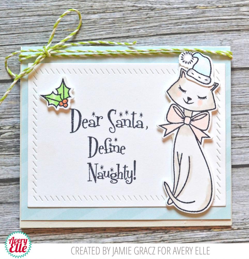 Dear Santa Clear Stamps & Dies