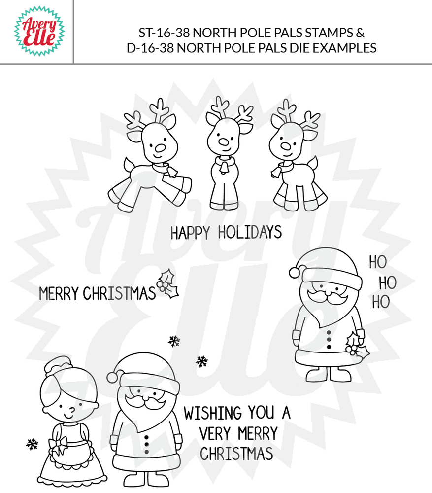 North Pole Pals Example