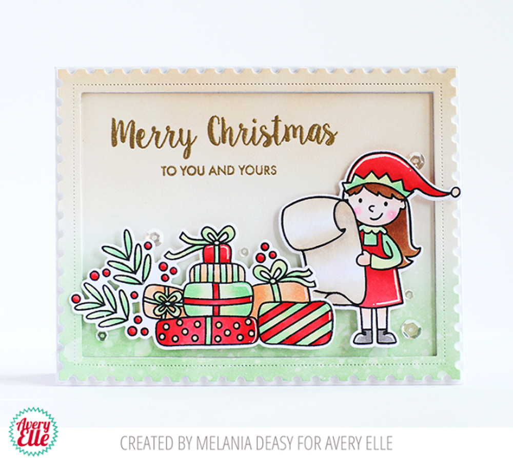 Elf-tacular Clear Stamps & Dies