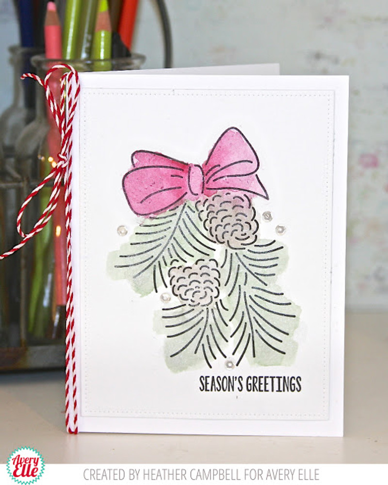 Pinecones Clear Stamps
