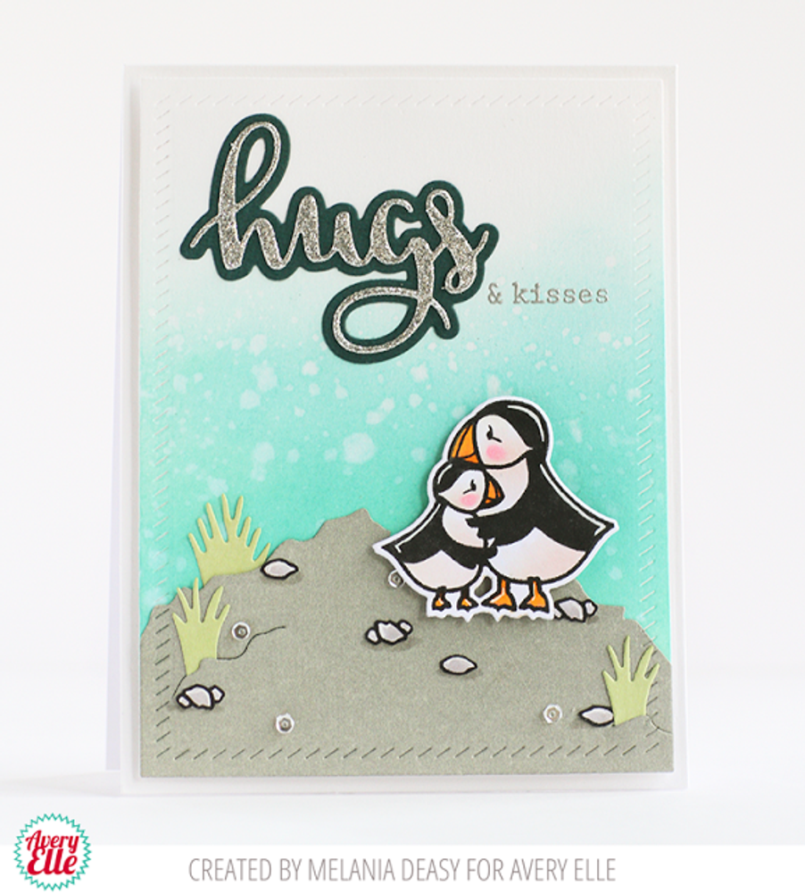 Love Puffin Clear Stamps & Dies