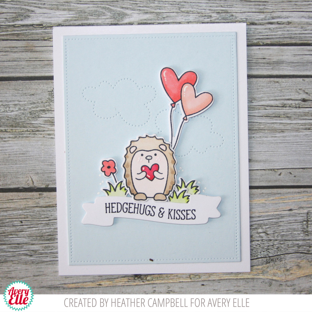 Hedgehugs Clear Stamps & Dies
