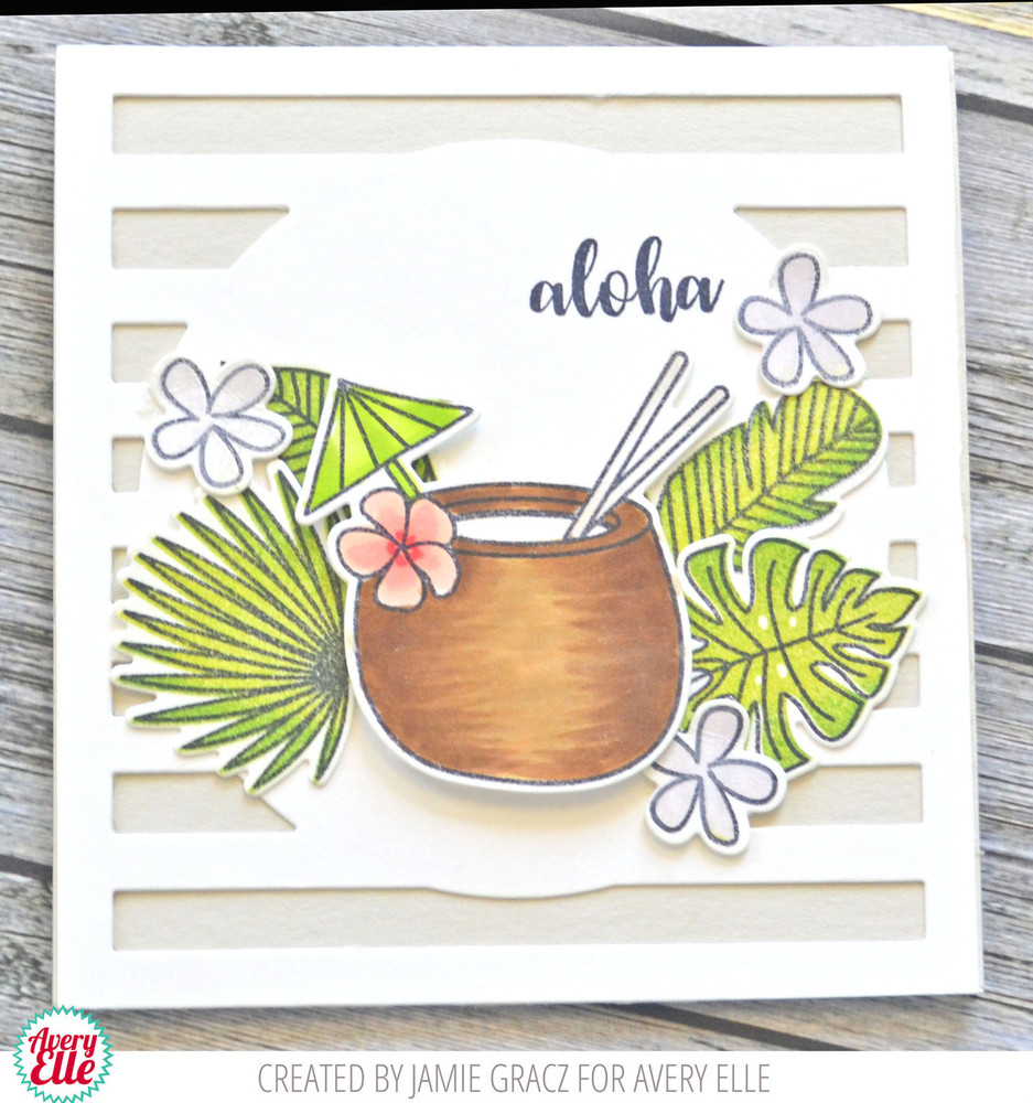 Aloha Clear Stamps & Dies