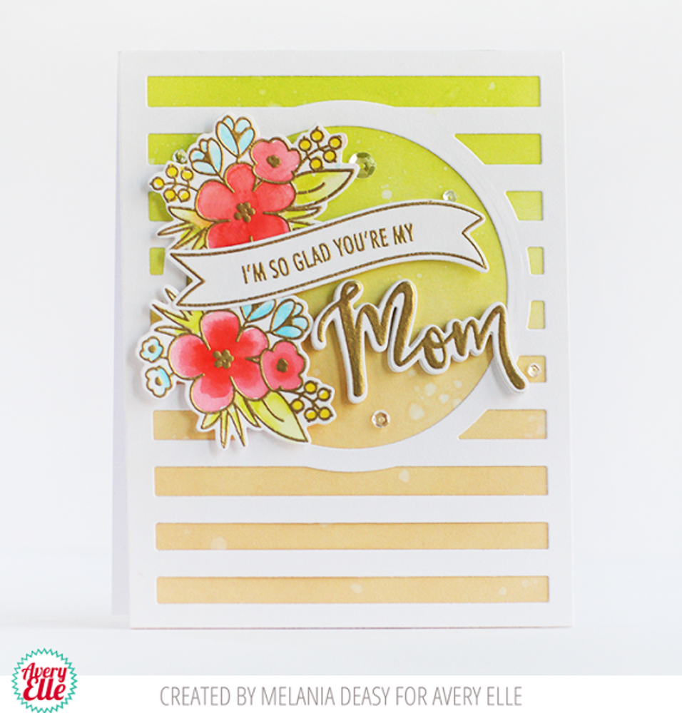 Mom and Dad Clear Stamps & Dies