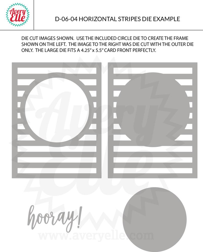 Horizontal Stripes Example