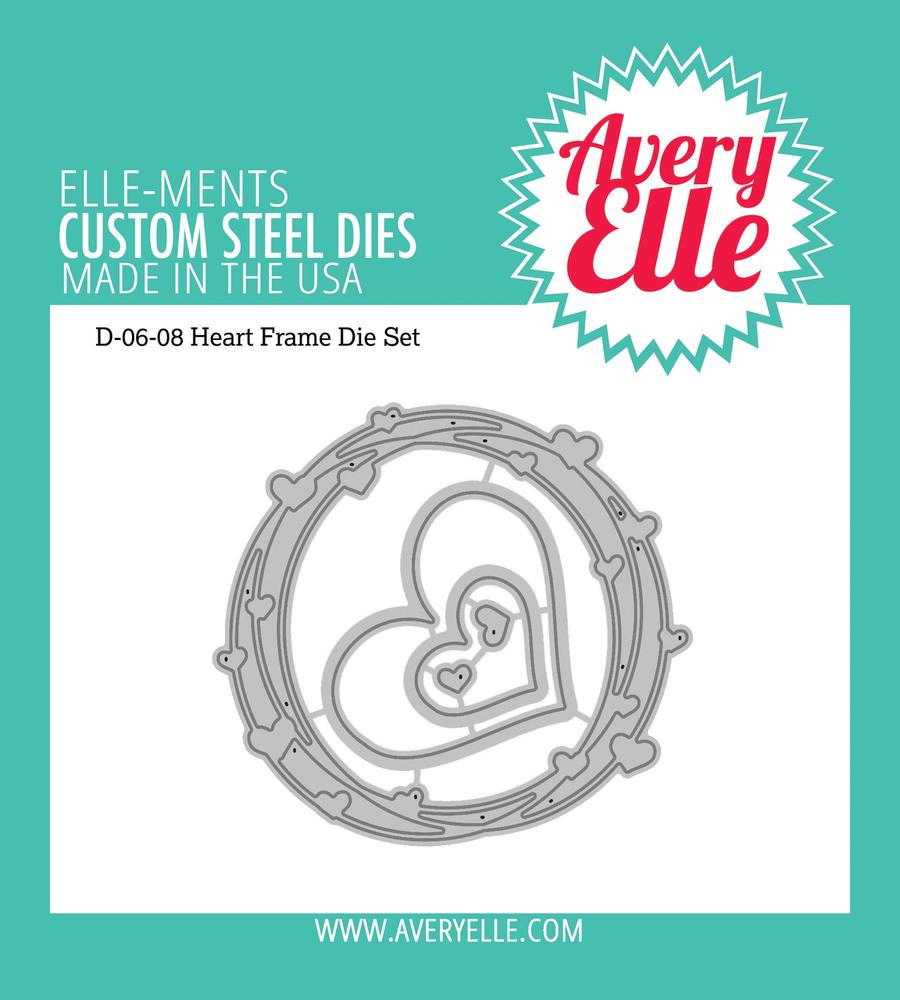 Avery Elle Heart Frame Dies