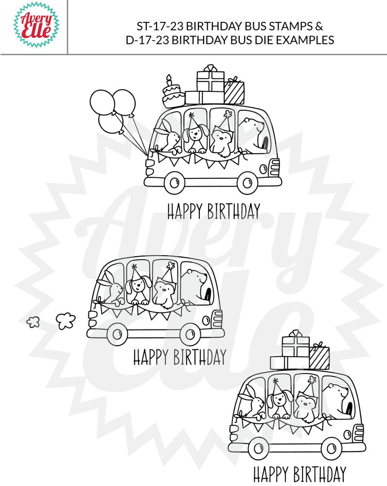 Birthday Bus Example