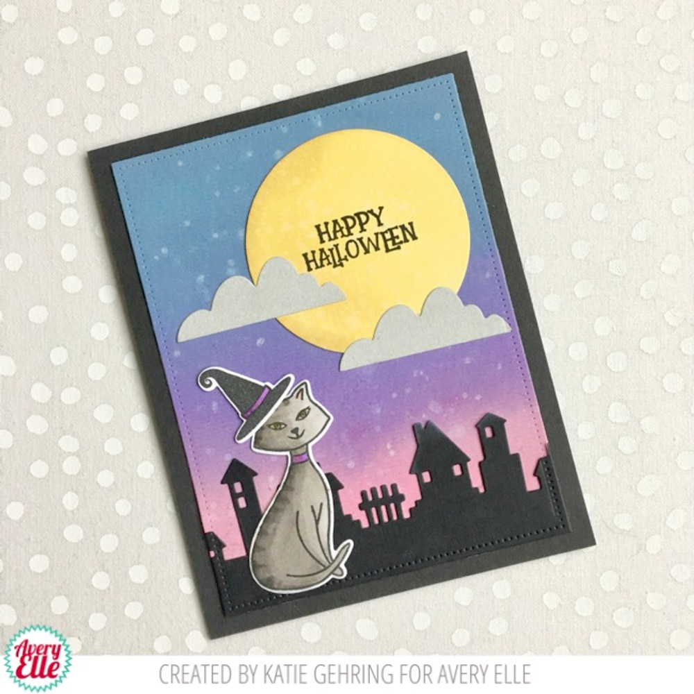 Bad Kitty Clear Stamps & Dies
