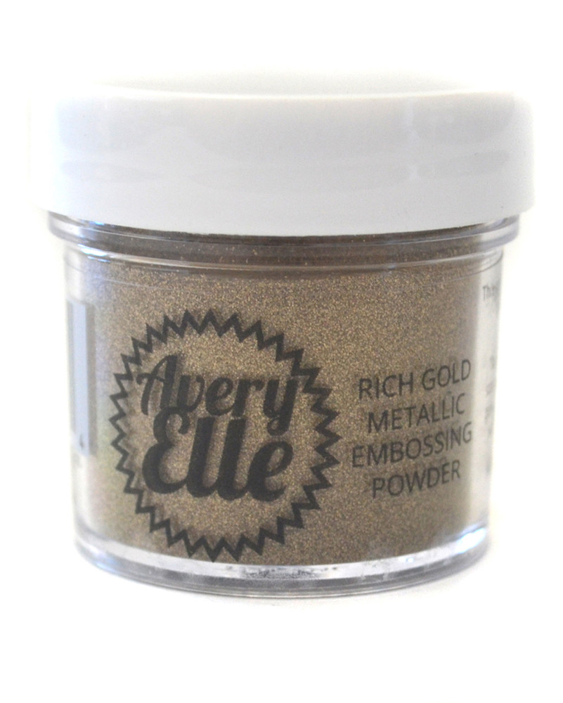 Rich Gold Metallic Embossing Powder