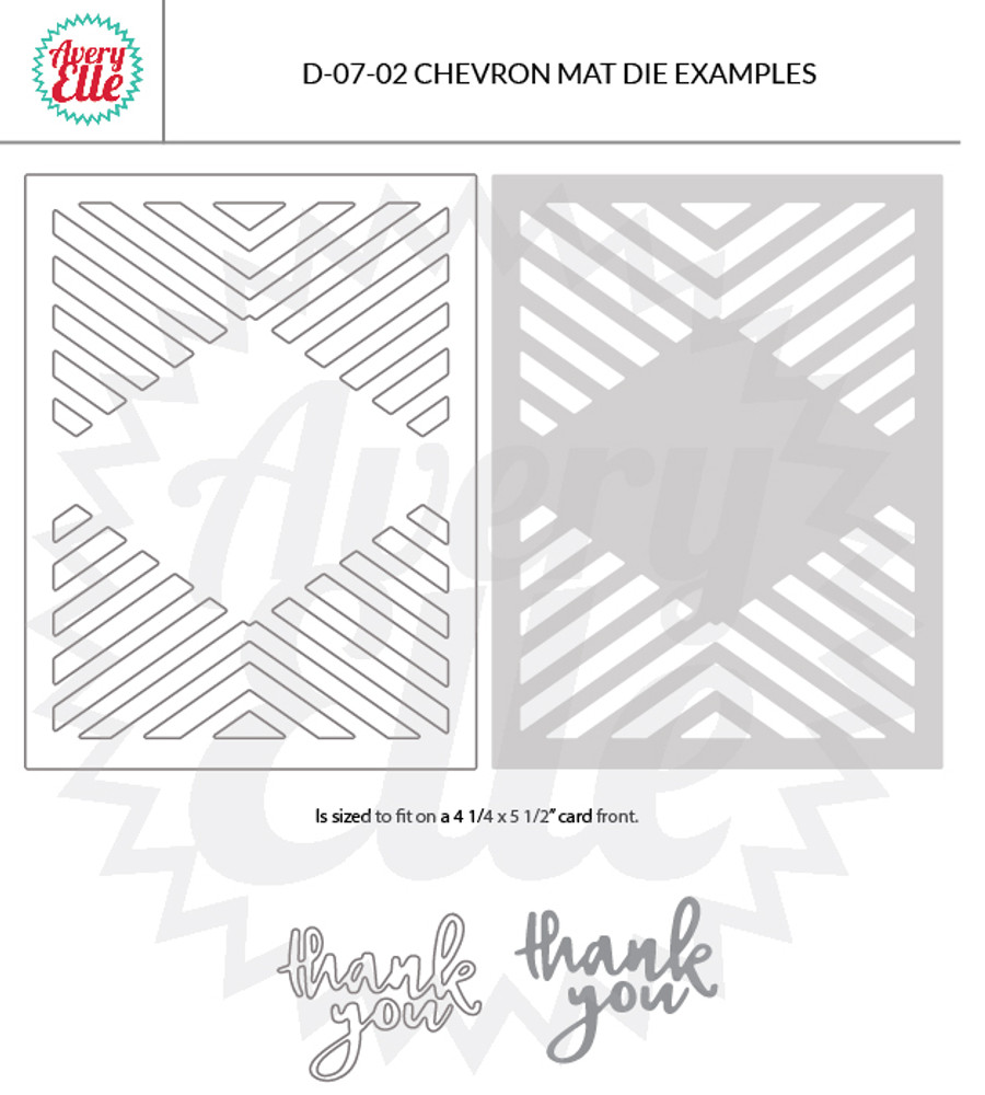 Chevron Mat Dies Example