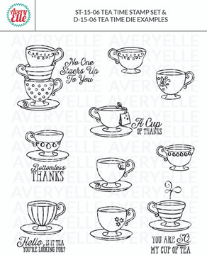 Tea Time by Avery Elle Inc. examples