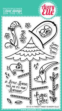 Clear Stamps - ST-15-14 Tweet Tweet