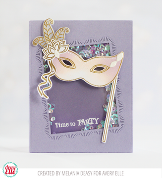 Mardi Gras Clear Stamps