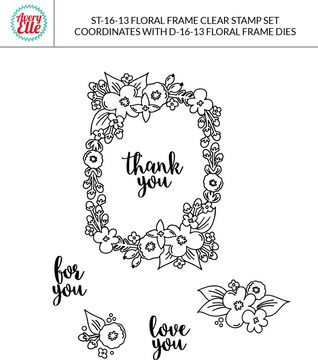 Floral Frame Example