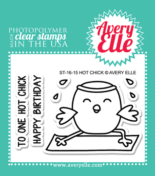 Avery Elle Hot Chick Clear Stamps
