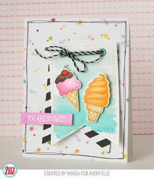 The Scoop Clear Stamps & Dies
