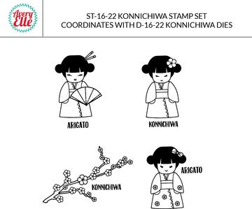 Konnichiwa Dies & Clear Stamps
