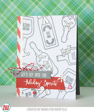 Holiday Spirits Clear Stamps