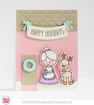 Hanging Banner Clear Stamps & Dies