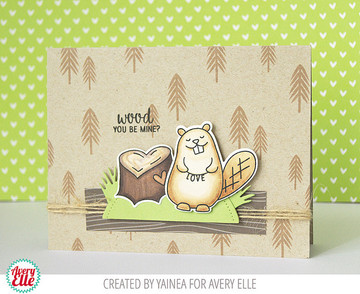 Wood You? Clear Stamps & Dies