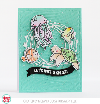 Bubbles Clear Stamps & Dies
