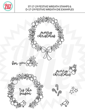 Festive Wreath Example