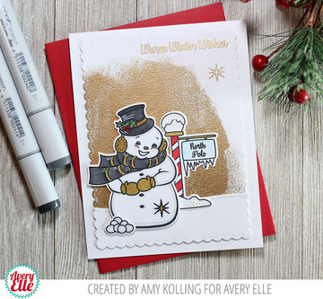 Frosty Friends Clear Stamps & Dies