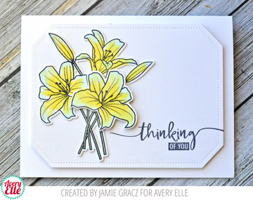 Spring Bouquet Clear Stamps & Dies