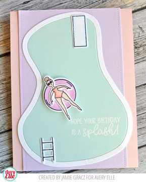 Splash! Clear Stamps & Dies