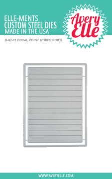 Avery Elle Focal Point Stripes Dies