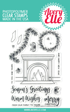 Avery Elle Fireside Clear Stamps