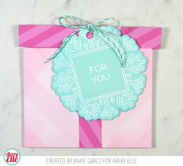 Gift Card Box Dies