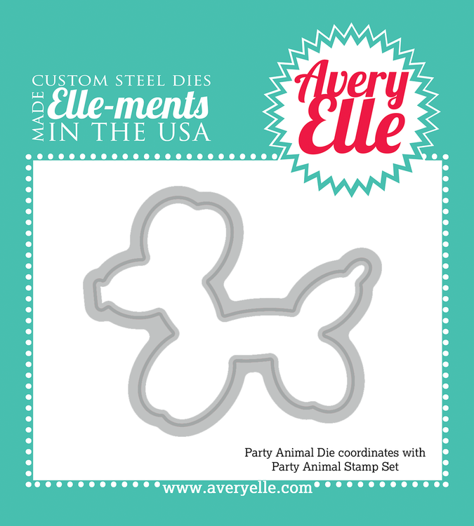 Avery Elle Party Animal Die Set