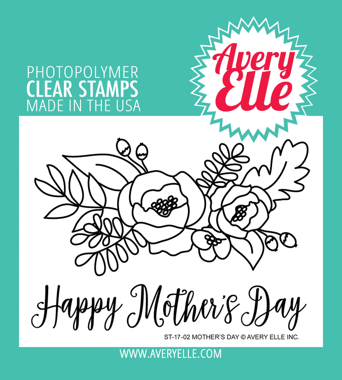 Avery Elle Mother's Day Clear Stamps