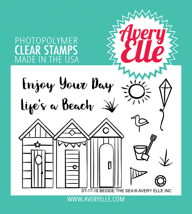 Avery Elle Beside the Sea Clear Stamps