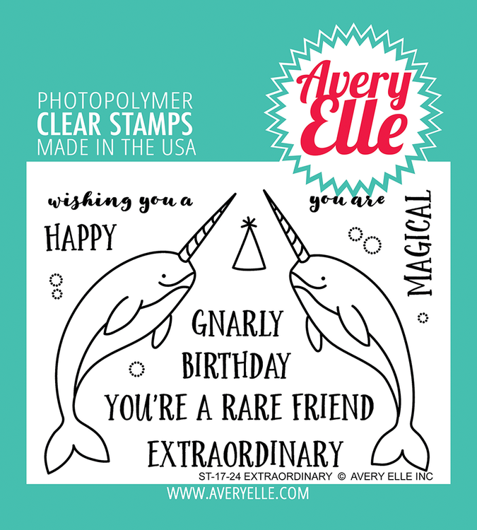 Avery Elle Extraordinary Clear Stamps
