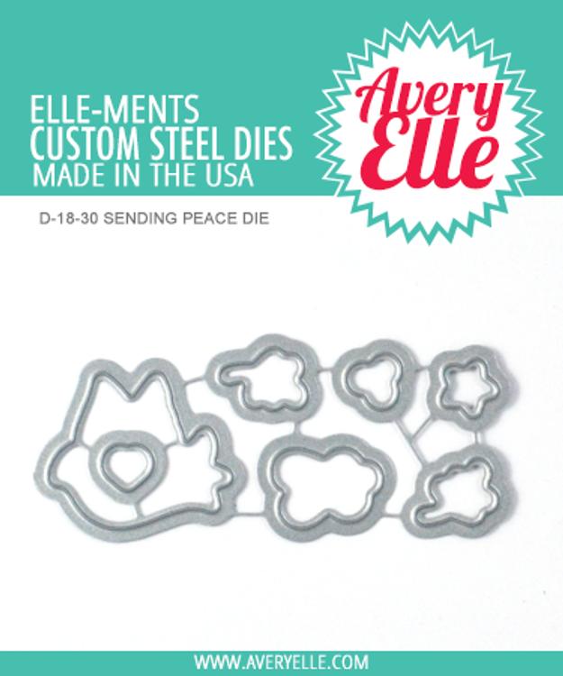 Avery Elle Sending Peace Dies