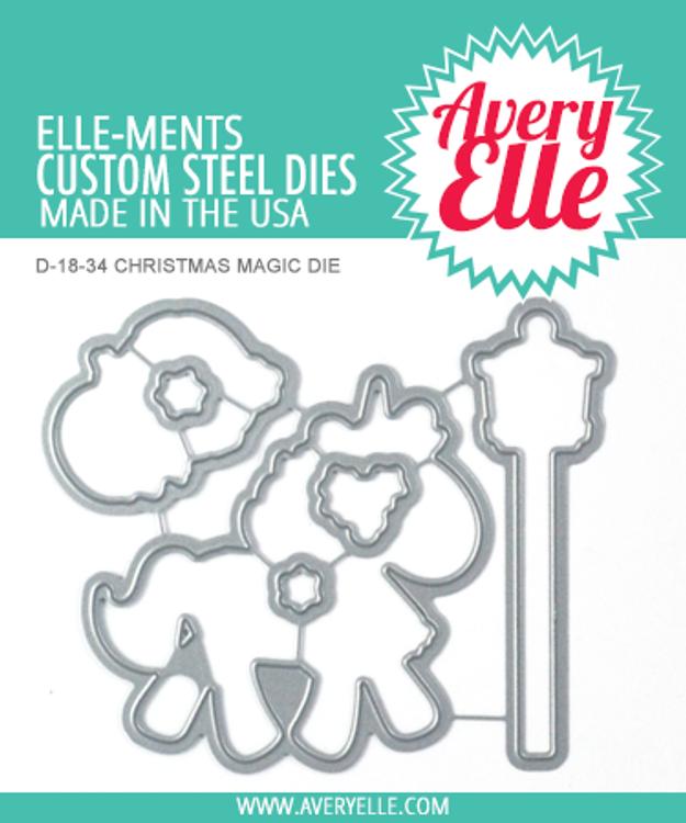 Avery Elle Christmas Magic Dies