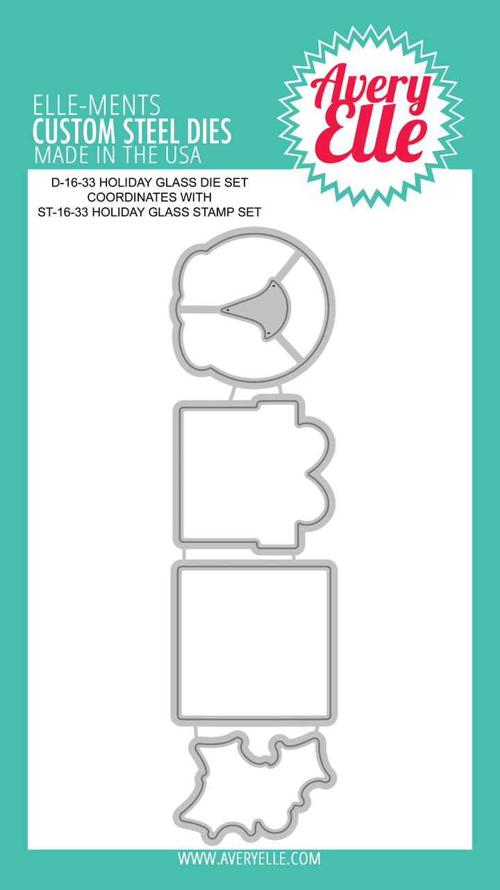 Holiday Glass Dies