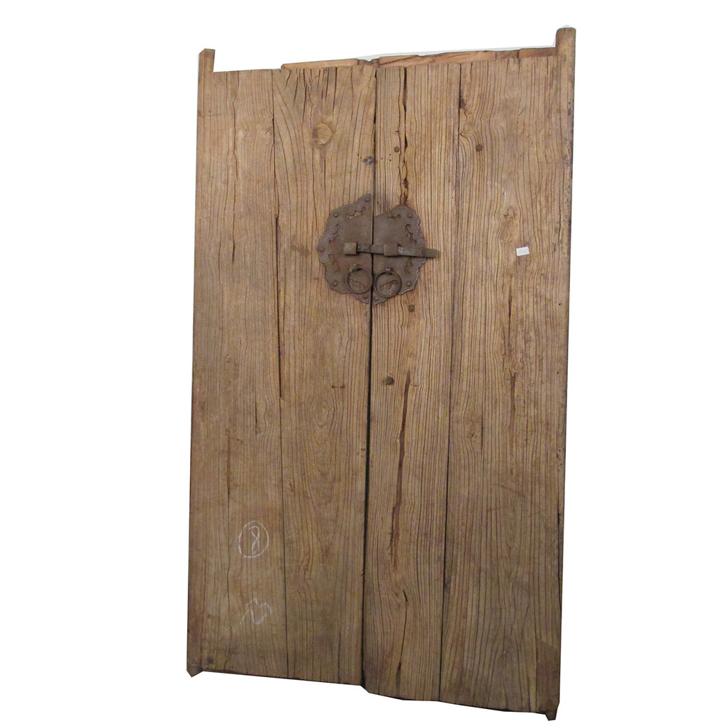 DOORS PAIR CHINESE ELM (DA058)