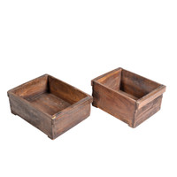 TIMBER FRUIT BOX (JN007)