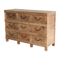 SIDEBOARD 9 DRAWER (F130)